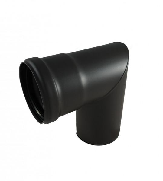 Knie mit Reinigungsöffnung, 90°, Durchmesser 80 mm